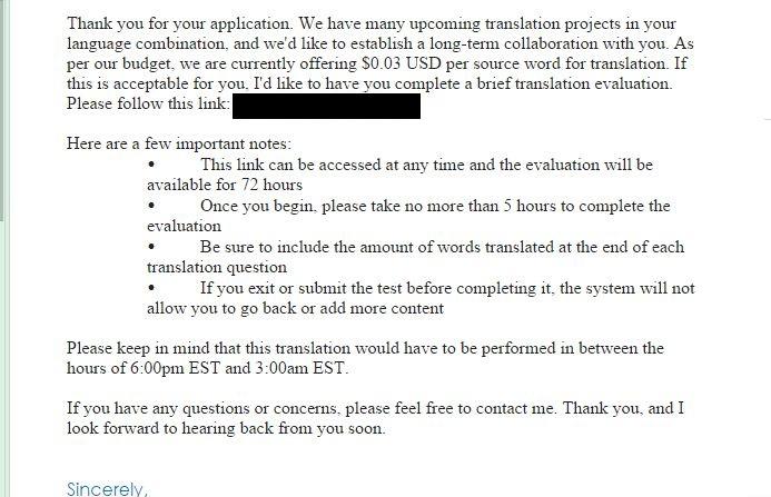 el mercado de la traducción